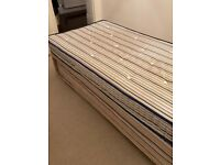 The single trundle bed with guest bed - as new