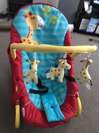 Baby bouncer, good condition, smoke free home.