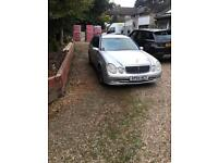 MERCEDES E CLASS LOW MILEAGE 7 SEATER