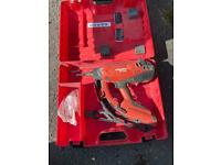 HILTI GX120 Gas,Actuated Nail Gun.. Condition is Used. Dispatched