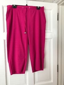 Ladies summer cropped trousers