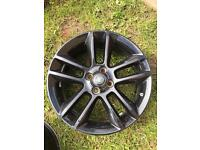 4x Genuine Vauxhall Corsa D limited edition alloy wheels