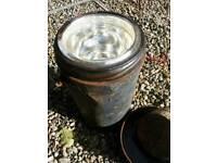 Vintage food thermos flask