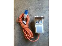 Camping extension lead unit
