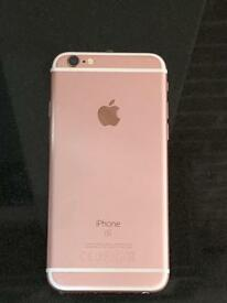 iPhone 6S rose gold. Immaculate condition.