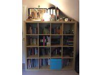Ikea Kallax shelving unit - Birch