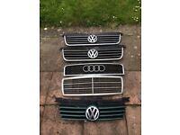 Car grill job lot VW Audi Merc