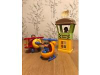 Happyland Airport, Aeroplane & Helicopter Play Set