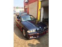 98 BMW E36 318i Convertible SPORT Breaking Spare parts Repair Salvage OrientBLUE