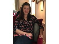 Part time nanny with experience, DBS, own car and great references!!