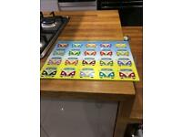 Kitchen worktop saver campervan design