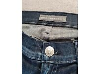 Selection of designer luxury jeans. J Brand, 7 for all Mankind, Rock & Republic denim