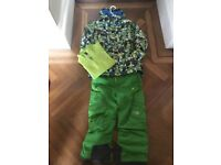 North Face Ski/board jacket, trousers and fleece