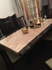 DFS Dining table and chairs