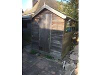 Garden shed 8foot x 6foot built from cedar
