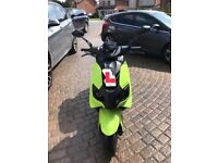 Speedfighter 4 50 cc green/black mint condition