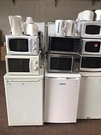 White Microwave - Lightly Used - Good Condition