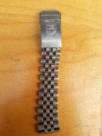Tag Huer stainless steel Watch clasp strap