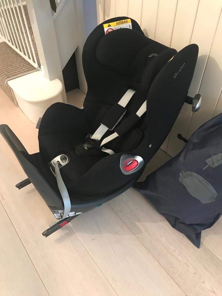 cybex sirona platinum 360 group 0 1 front rear rotating car seat rrp 375 in blandford. Black Bedroom Furniture Sets. Home Design Ideas
