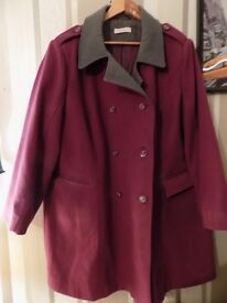 Womens Damson Simplybe Lined Winter Coat