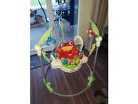 Rainforest jumperoo bouncer