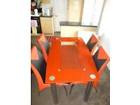 Rimini Dining Table 4 Chairs