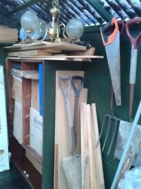 SHED CLEARANCE,Ideal for somebody who does Car Boots.£150.There are more than 150 items