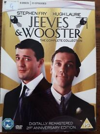 Jeeves and Wooster DVD Complete Collection, Good Used Condition - Digitally Remastered