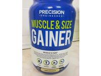 Unopened Muscle and Size Gainer Protein [Health, Fitness, Gym]