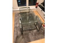 Dwell Span Glass Coffee Table set - perfect condition