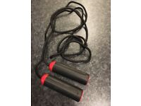 Skipping Rope - proper rope with bearings in handles.