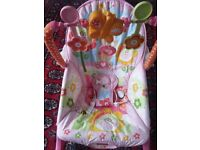 Fisher Price Transat Y8184 Baby Rocker Pink RRP £78