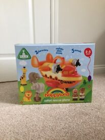 Brand New in Box Happyland Safari Plane