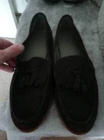 Mens suide shoes by office London size 9