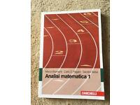 Analysis mathematics 1