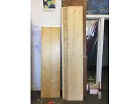 3 x Plywood boards 37.5cm x 228cm x 2.5cm