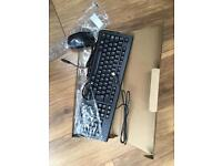 Brand new wired keyboard and mouse