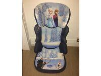 "Disney ""Frozen"" Car Seat Group 2-3 Brand New"