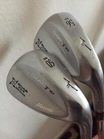 Mizuno MP-T10 56 and 60 Degree Wedges