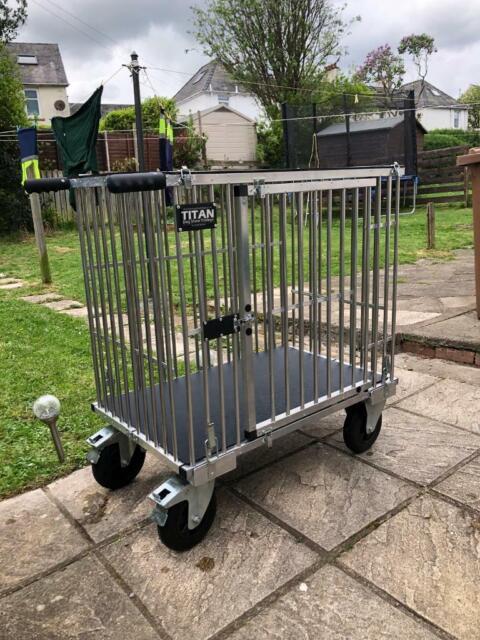 "TITAN Large Dog Show Trolley With 8"" All Terrain Wheels | in Knightswood,  Glasgow | Gumtree"