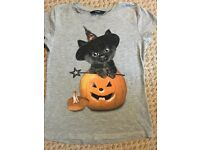 Girls cute Halloween tshirt
