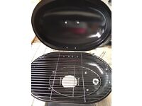 Oval Charcoal BBQ
