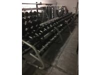 TECHNOGYM USED DUMBBELLS AND WEIGHT DISCS FORSALE!!