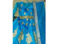 Blue lengha for sale