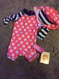 Brand new baby swimsuit