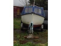 18ft Plymouth Pilot Sole 25hp inboard engine
