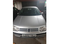Great price on 2002 Golf 1.6 automatic low mileage
