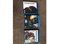 Blu ray films transformers x 3