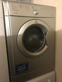 IMMACULATE SILVER INDESIT VENTED DRYER