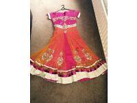 Asian Indian wedding party dress